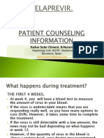 TELAPREVIR Patient Counceling Information