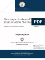 Electromagnetic Interference (EMI) and filter design for Switched Mode Power Supplies