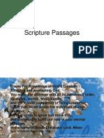 Scripture Passages