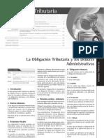 La Obligacion Tributaria y Los Deberes Administrativos Revista 170