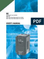 Rx Inverter Manual En