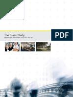 Essex Study - Ecophon Summary