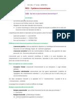DUT GEA - M411 Systèmes économiques - Introduction