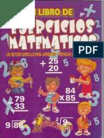 Mi Libro de Ejercicios Matematicos by Dijeja