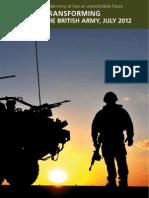 Army 2020 Transformation