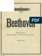Beethoven - Bagatelles (Peters Edition)