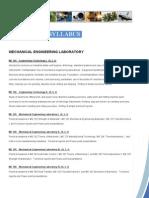 Syllabus-Mechanical Engineering