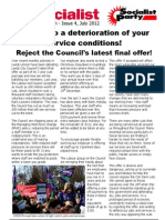 SP Leeds City Council Bulletin 4 (July 2012)