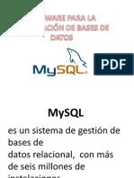 Sofware Para Bases de Datos
