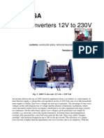 Power Inverter 12VDC to 230VAC 3000W