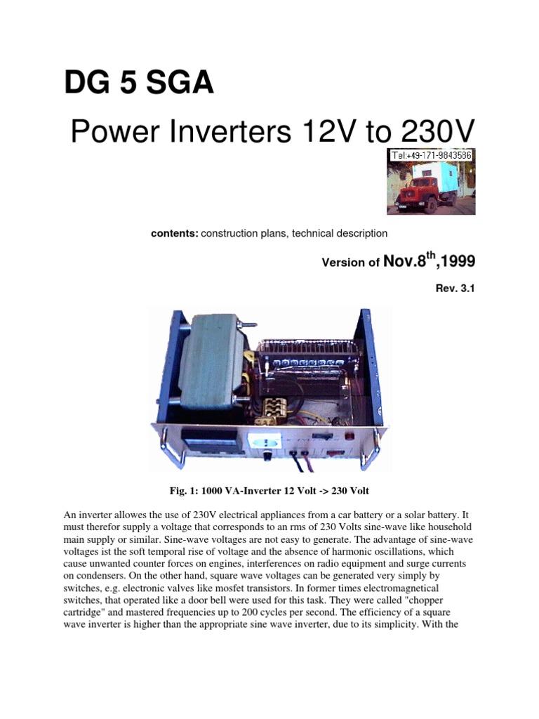 power inverter 12vdc to 230vac 3000w power inverter transformerPower Inverter Circuit 3000w 12vdc To 230vac #18