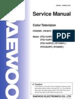 3468964 Daewoo Service Manual Tv Dtq14j4fc Chasis Cn001c