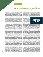 Agua, Ecosistema y Agricultura