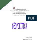 Geopolitica y desarrollo