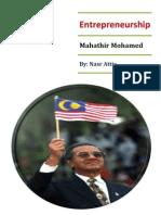 EntrepreneurShip Mahathir Mohamed