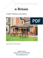 Stay in Britain Accommodation Guide eBook