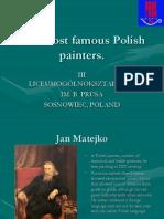 The Most Famous Polish Painter.