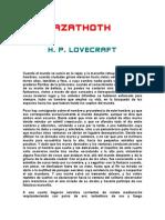 H. P. Lovecraft - Azathot