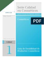 Guia de Estabilidad de Cosmeticos de Brasil