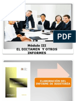 Dictamenes de Auditoria Final Modulo III