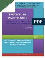 PROYECTO DE INVESTIGACIÓN CALCULO
