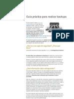 Guía práctica para realizar backups