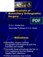 Complications of Bimaxillary Orthognathic Surgery