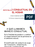 Presentación Manejo Conductual