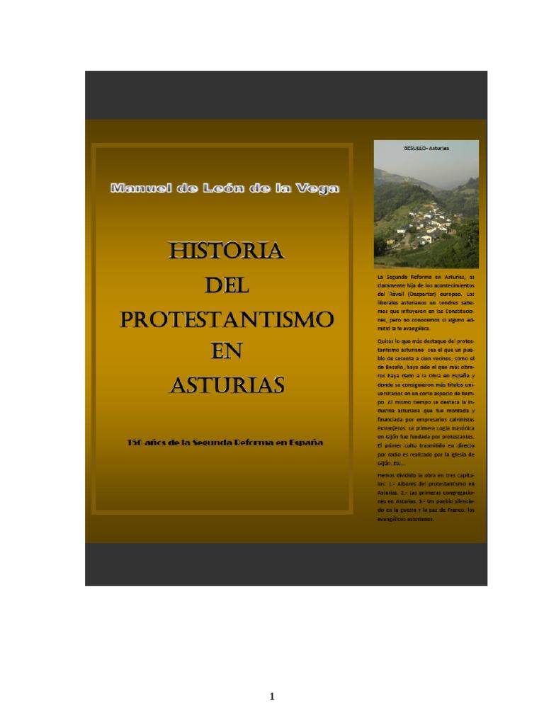 Historia Del Protestantismo en Asturias 1b43b32f7d7