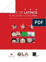 State of Latinos in the District of Columbia