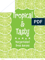 Margaritaland Drinks