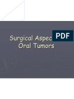Surgical Aspect of Oral Tumors