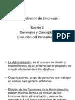 Administración de Empresas I