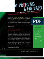 Racial Profiling & the LAPD