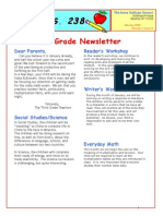 3rd Grade January 2009 Newsletter