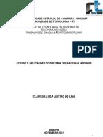 TGI CLARISSA JUSTINO-  ESTUDO E APLICAÇÕES DO SISTEMA OPERACIONAL ANDROID