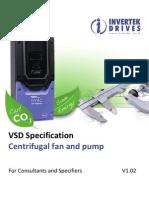 HVAC Specification for Variable Speed Drives V1.02