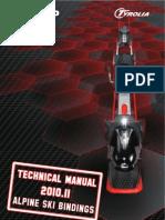 2010-2011 Head, Fischer and Elan Bindings Tech Manual From Tyrolia - Techn.manual_EN