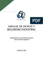 Manual de Higuiene y Seguridad Industrial USC 2008