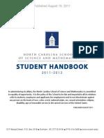 2011 NCSSM Student Handbook