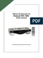 Manual Do Rts1900 Av-ftch