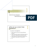 2012 Handout 7 - Discriminant Analysis