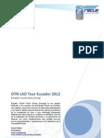 OTN Lad Tour 2012 - Agenda 6 de Julio