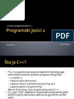 01. Uvod u Programski Jezik C