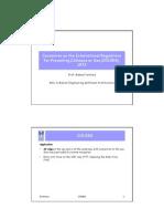 Colreg Annex 1 Explanation