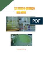 Análisis físico quimico del agua