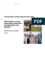 2010 Local Association Compensation Profile Survey