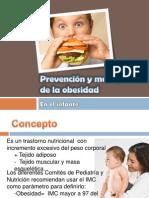 Prevención y manejo obesidad infantil