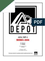 ADA MP-1 Mod 3.666