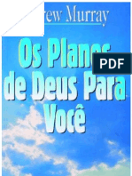 Os Planos de Deus Para Você - Andrew Murray